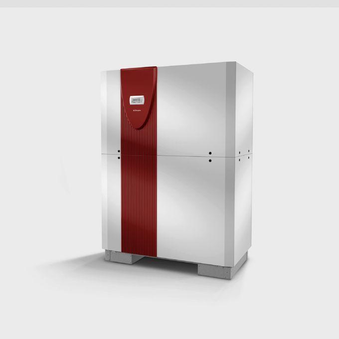 Высокотемпературный грунтовой тепловой насос с 2 компрессорами SIH 90TU