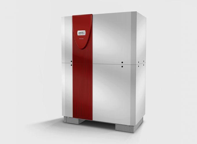 Реверсивный грунтовой тепловой насос с 2 компрессорами SI 130TUR+