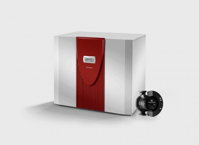 Водяной тепловой насос с 2 компрессорами WI 35TU