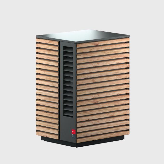 4 Воздушный тепловой насос 12 кВт с сенсорным дисплеем System M Comfort 12 NMB