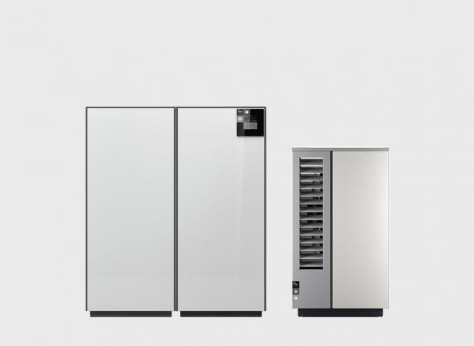 Воздушный тепловой насос 12 кВт с сенсорным дисплеем System M Comfort 12 N