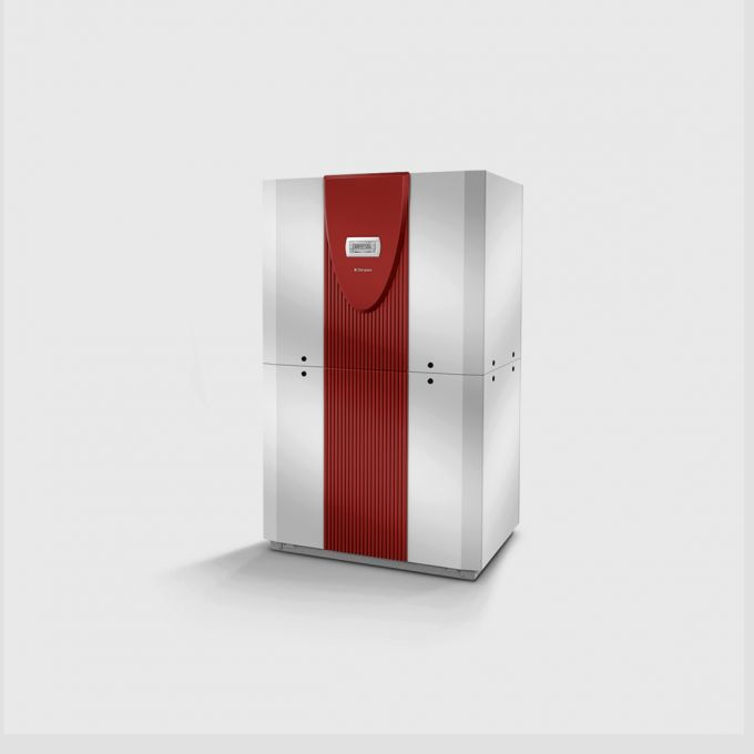 Высокотемпературный грунтовой тепловой насос с 2 компрессорами SIH 20TE