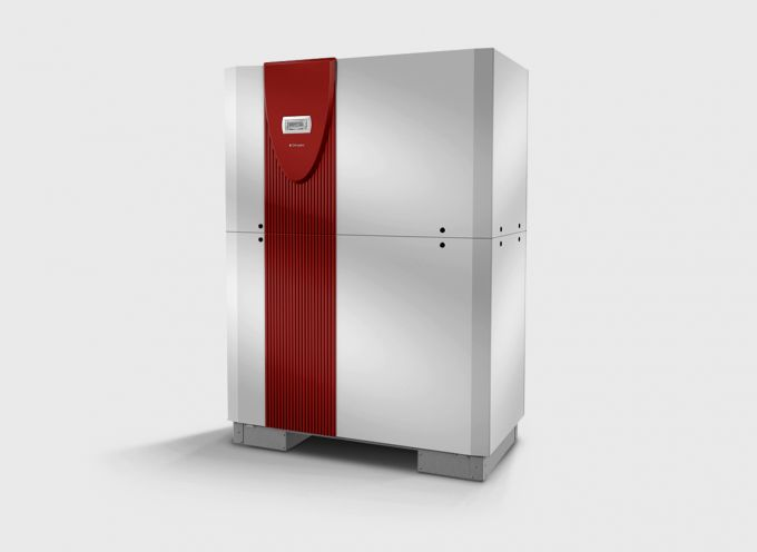 Высокотемпературный водяной тепловой насос с 2 компрессорами WIH 120TU