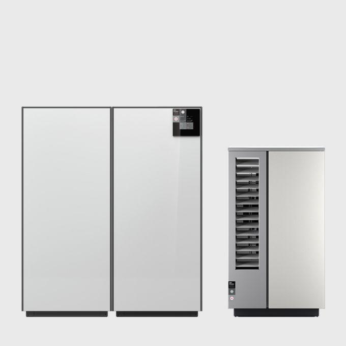 1 Воздушный тепловой насос 9 кВт для отопления и охлаждения с сенсорным дисплеем System M Comfort Cooling 9 NM