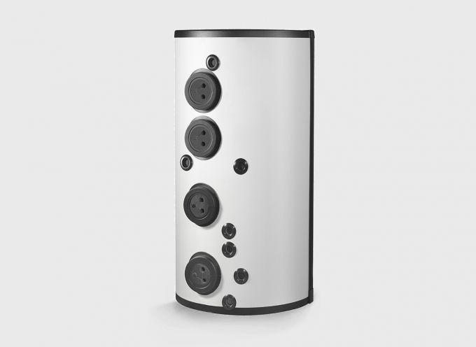 Бивалентный комбинированный бак отопления  250 л / ГВС