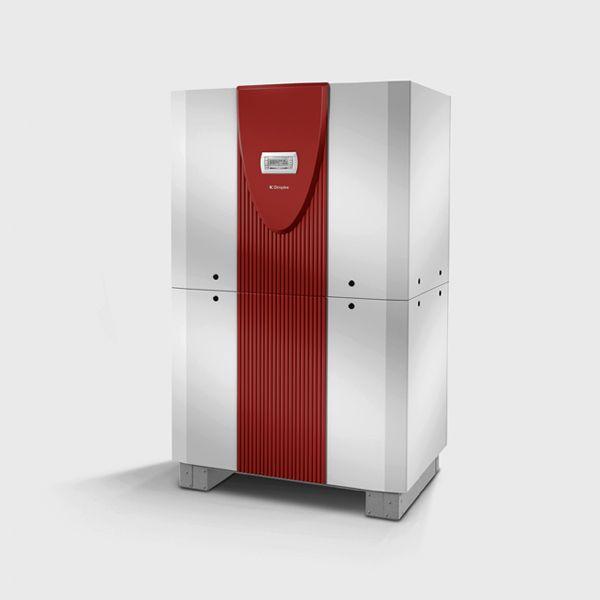 Реверсивный грунтовой тепловой насос с 2 компрессорами SI 50TUR