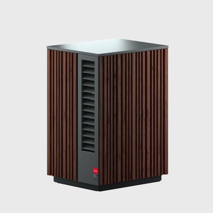 4 Воздушный тепловой насос 9 кВт для отопления и охлаждения с сенсорным дисплеем System M Comfort Cooling 9 NM