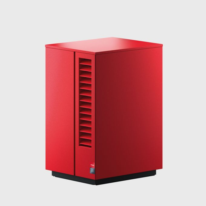 4 Воздушный тепловой насос 9 кВт для отопления и охлаждения с сенсорным дисплеем System M Comfort Cooling 9 N