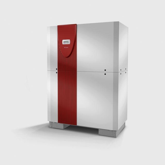 Реверсивный грунтовой тепловой насос с 2 компрессорами SI 70TUR_1