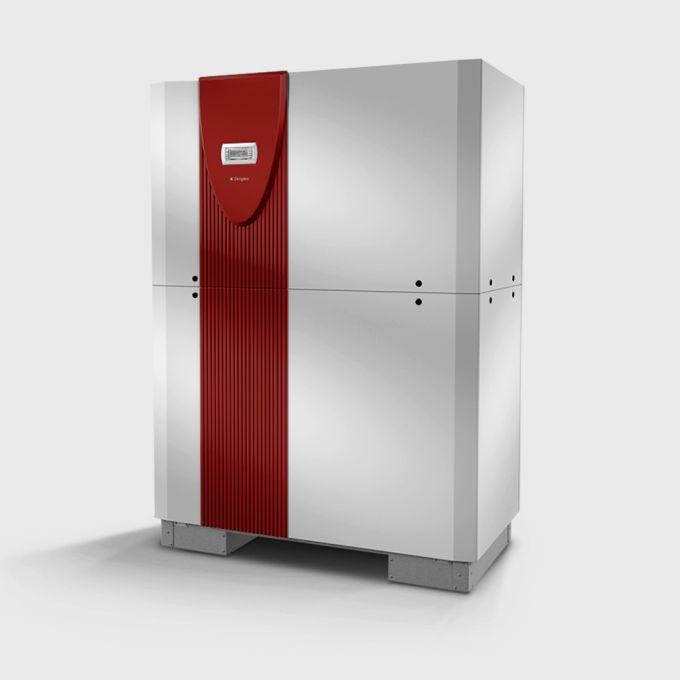 Високотемпературний водяний тепловий насос з 2 компресорами  WIH 120TU